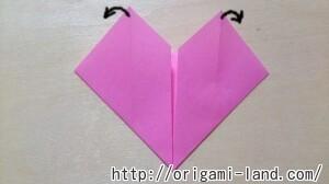 B ハートの便箋の折り方_html_3c35de03