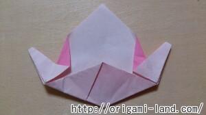 C 折り紙 くだもの(りんご、バナナ。もも)の折り方_html_m8dd6a6b