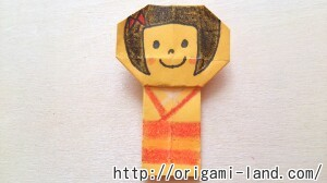 C 折り紙 人形(マトリョーシカ、こけし、福助)の折り方_html_21101811