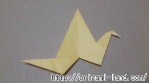 C 折り紙 鳥の折り方三種(つる・つばめ・はばたく鳥)_html_34a21357