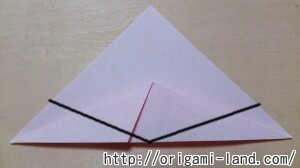 C 折り紙 くだもの(りんご、バナナ。もも)の折り方_html_5b6ba096