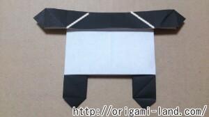 C 折り紙 しおり(パンダ・うさぎ・ハート)の折り方_html_m31c29356