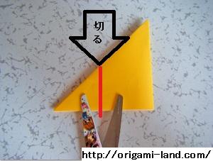 C 折り紙 〇、×、♯、お花模様の折り方_html_1d08d784