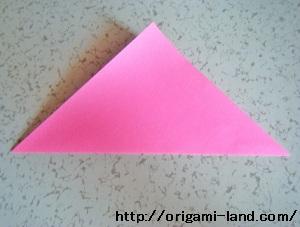 C 折り紙 〇、×、♯、お花模様の折り方_html_79407318