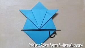 C 折り紙 人形(マトリョーシカ、こけし、福助)の折り方_html_4afafd77