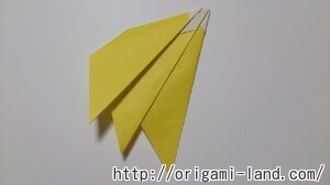 C 折り紙 くだもの(りんご、バナナ。もも)の折り方_html_30ffcca