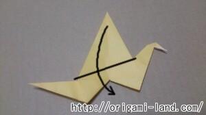 C 折り紙 鳥の折り方三種(つる・つばめ・はばたく鳥)_html_77bda14c