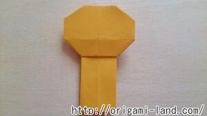 C 折り紙 人形(マトリョーシカ、こけし、福助)の折り方_html_m39f9b753