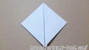 C 折り紙 しおり(パンダ・うさぎ・ハート)の折り方_html_624b83f0