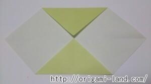 C 折り紙 ネクタイの折り方_html_497b38e