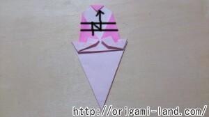 C 折り紙 夏のデザート(アイスクリーム&かき氷)の折り方_html_m13830176