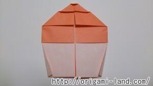 C 折り紙 スイーツ(カップケーキ、キャンディ、プリン)の折り方_html_5df49afa