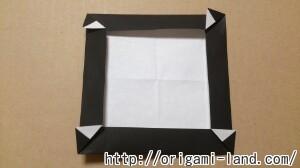 C 折り紙 しおり(パンダ・うさぎ・ハート)の折り方_html_mee70131
