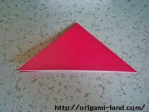 C 折り紙 〇、×、♯、お花模様の折り方_html_27066a5
