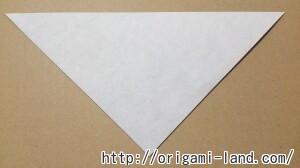 C 折り紙 しおり(パンダ・うさぎ・ハート)の折り方_html_96cff47