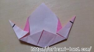 C 折り紙 くだもの(りんご、バナナ。もも)の折り方_html_7eab0e62