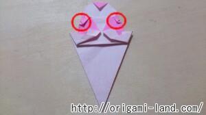 C 折り紙 夏のデザート(アイスクリーム&かき氷)の折り方_html_755491cd