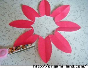 C 折り紙 〇、×、♯、お花模様の折り方_html_m1d723d75
