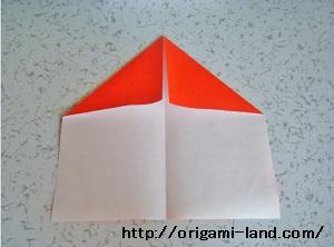 C 折り紙 サンタクロースの折り方_html_333ad220
