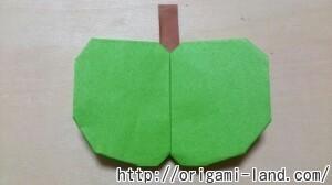C 折り紙 くだもの(りんご、バナナ。もも)の折り方_html_m5bef0319