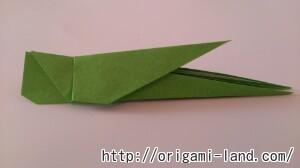 C 折り紙 バッタの折り方_html_4502700a