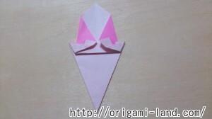 C 折り紙 夏のデザート(アイスクリーム&かき氷)の折り方_html_39feedb4