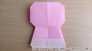 C 折り紙 人形(マトリョーシカ、こけし、福助)の折り方_html_2024dd37