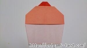 C 折り紙 スイーツ(カップケーキ、キャンディ、プリン)の折り方_html_1b948942
