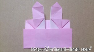 C 折り紙 しおり(パンダ・うさぎ・ハート)の折り方_html_m6059e6bd