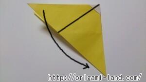 C 折り紙 くだもの(りんご、バナナ。もも)の折り方_html_71ac312f