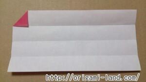 C 折り紙 しおり(パンダ・うさぎ・ハート)の折り方_html_658dd825