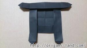 C 折り紙 しおり(パンダ・うさぎ・ハート)の折り方_html_2f004e98