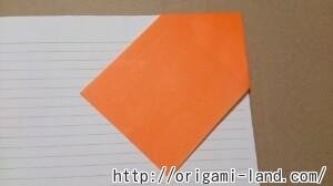 C 折り紙 しおり(パンダ・うさぎ・ハート)の折り方_html_765b2c9f