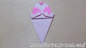 C 折り紙 夏のデザート(アイスクリーム&かき氷)の折り方_html_m20e1447a