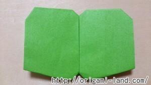 C 折り紙 くだもの(りんご、バナナ。もも)の折り方_html_73fdd373