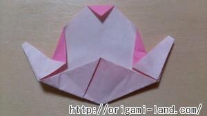 C 折り紙 くだもの(りんご、バナナ。もも)の折り方_html_3982c763