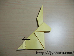 C 折り紙 うさぎの折り方_html_36669fb8