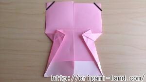C 折り紙 人形(マトリョーシカ、こけし、福助)の折り方_html_4daf2d3f