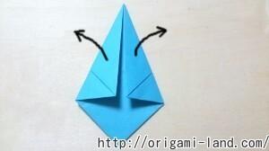 C 折り紙 人形(マトリョーシカ、こけし、福助)の折り方_html_48a25865