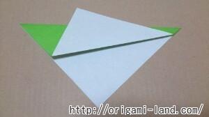 C 折り紙 バッタの折り方_html_6098c77d