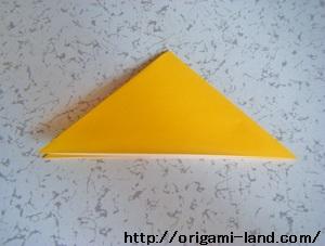 C 折り紙 〇、×、♯、お花模様の折り方_html_556ed29a