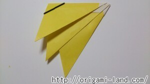 C 折り紙 くだもの(りんご、バナナ。もも)の折り方_html_m21602cf
