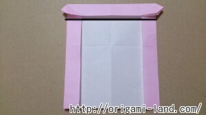 C 折り紙 しおり(パンダ・うさぎ・ハート)の折り方_html_m37938fb7