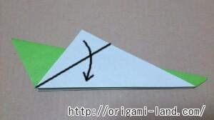 C 折り紙 バッタの折り方_html_4ec74c13