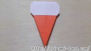 C 折り紙 夏のデザート(アイスクリーム&かき氷)の折り方_html_226897b3