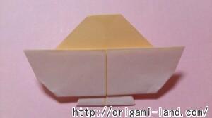 C 折り紙 スイーツ(カップケーキ、キャンディ、プリン)の折り方_html_201e203