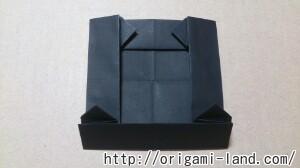 C 折り紙 しおり(パンダ・うさぎ・ハート)の折り方_html_71389788