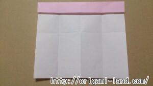 C 折り紙 しおり(パンダ・うさぎ・ハート)の折り方_html_m5be3f34c