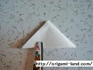 C 折り紙 〇、×、♯、お花模様の折り方_html_7f3d5193