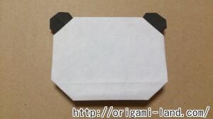 C 折り紙 しおり(パンダ・うさぎ・ハート)の折り方_html_m22850382